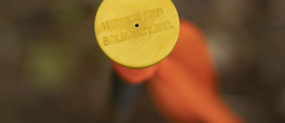 herrick and salsbury boundary marker pin